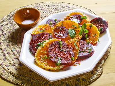 Moroccan Beet and Orange Salad
