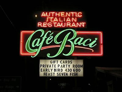 Cafe Baci in Sarasota