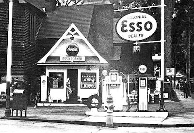 Esso Station, Portland, Me.