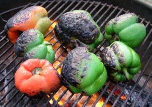 Palmetto-Roasted Peppers