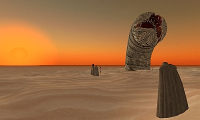 Sand Worm from Dune