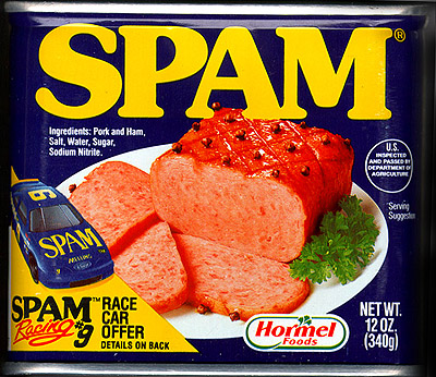 The one and only Spam