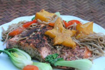 Steelhead Trout & Star Fruit